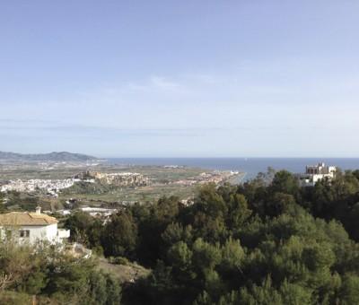 Salobrena, view