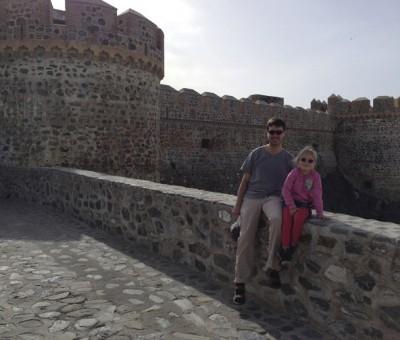 Antti and Luna, Almunecar castle