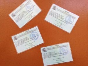 Residency cards