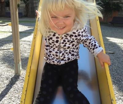 Isla in the slide