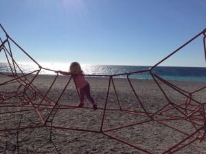 Isla climbing