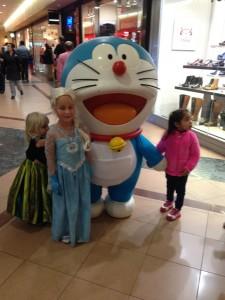 kids and Doraemon