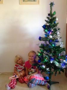 kids on Christmas Eve
