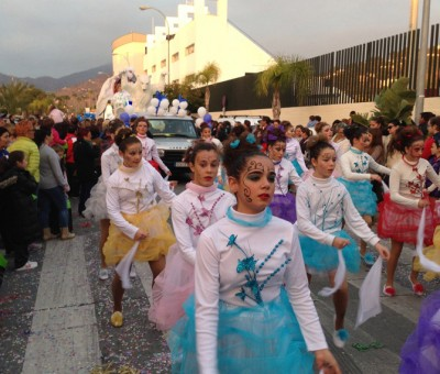 cabalgata, Almunecar, dancers