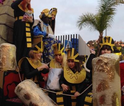 cabalgata, Almunecar, king