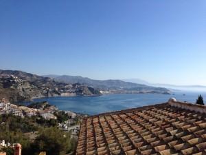 view, Punta de la Mona