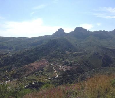 Peña Escrita, views