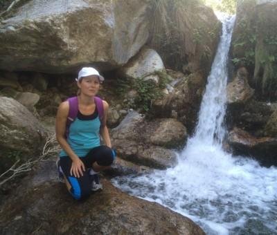 a small waterfall, otivar