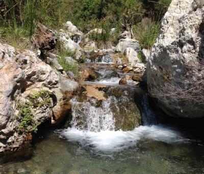 waterfall in Otivar