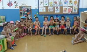 Kids, La Noria, Fiesta del agua.