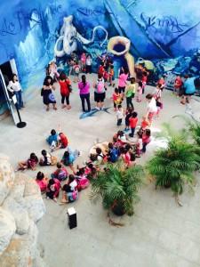 Aquarium, Almunecar, kids.