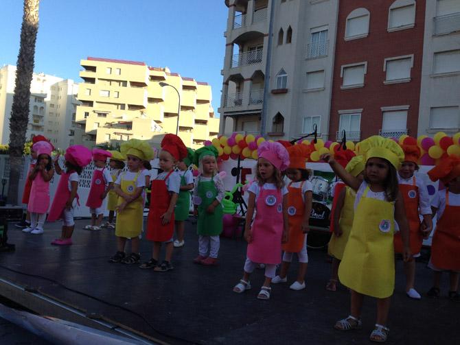 One Year of School in Spain: the Kids' Progress