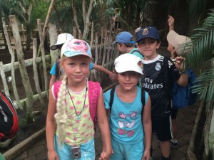 Kids, Biopark, excursion.