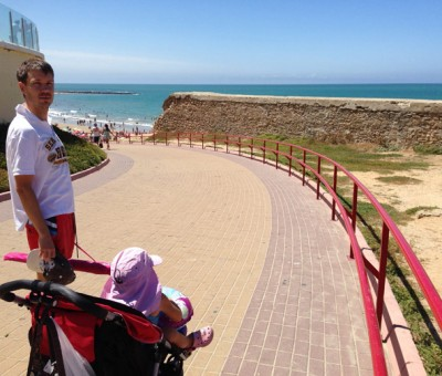 Going to the beach in Cadiz