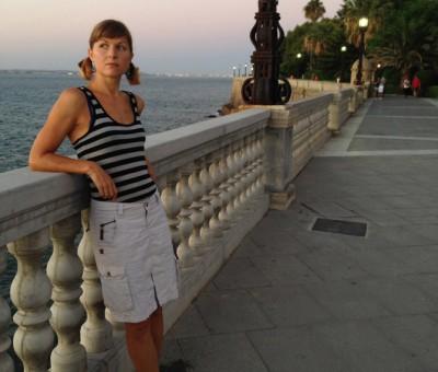 At the paseo in Cadiz