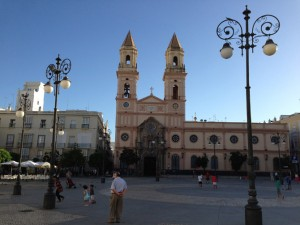 A square in Cadiz.