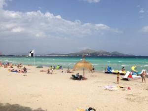 Maro beach, Alcudia, Mallorca