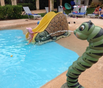 The kids pool Prishotel La Dorada