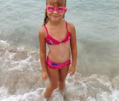 Little swimmer.